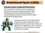 construction code enforcement