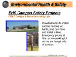 ehs campus safety projects31