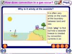 how does convection in a gas occur
