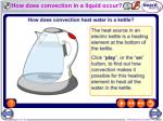 how does convection in a liquid occur