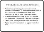 introduction and some definitions
