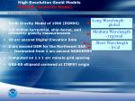 high resolution geoid models g99sss scientific model