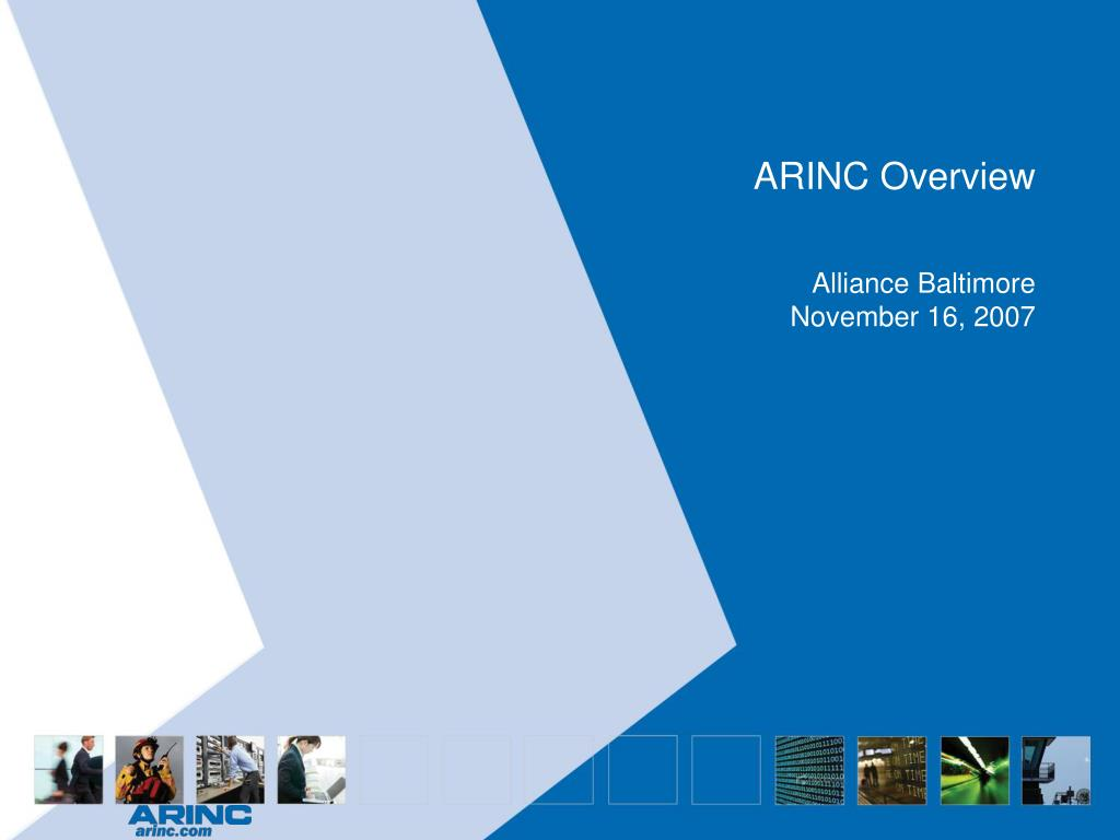 arinc overview l.