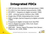 integrated fdcs