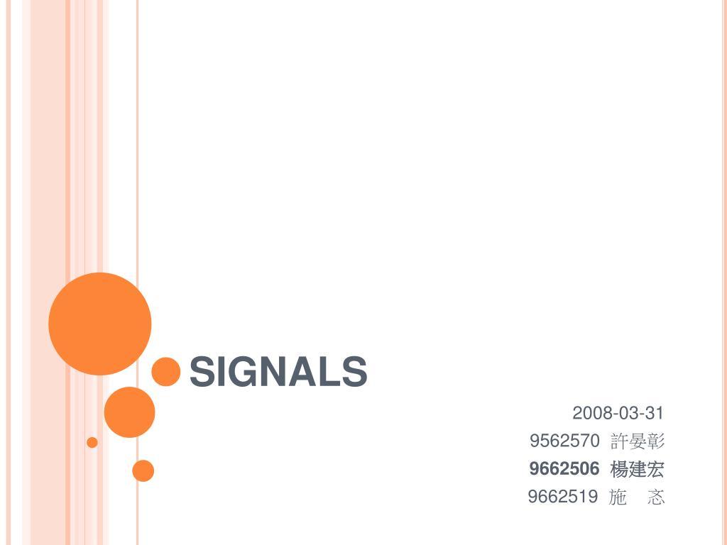 signals l.