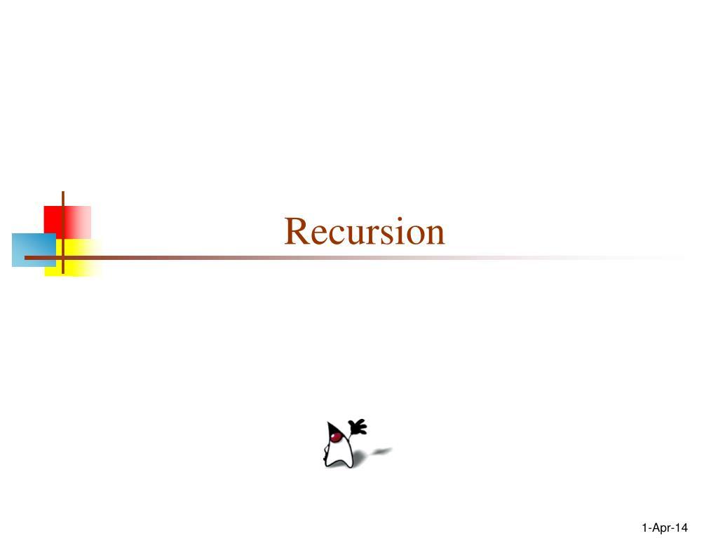 recursion l.