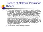 essence of malthus population theory5