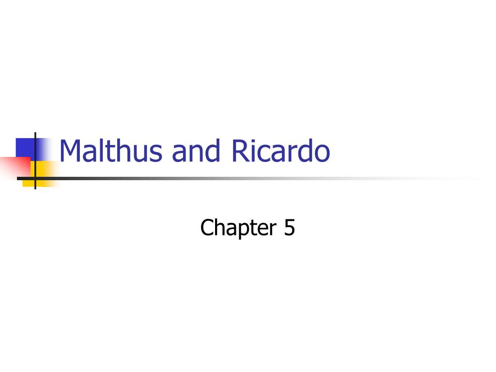 malthus and ricardo l.