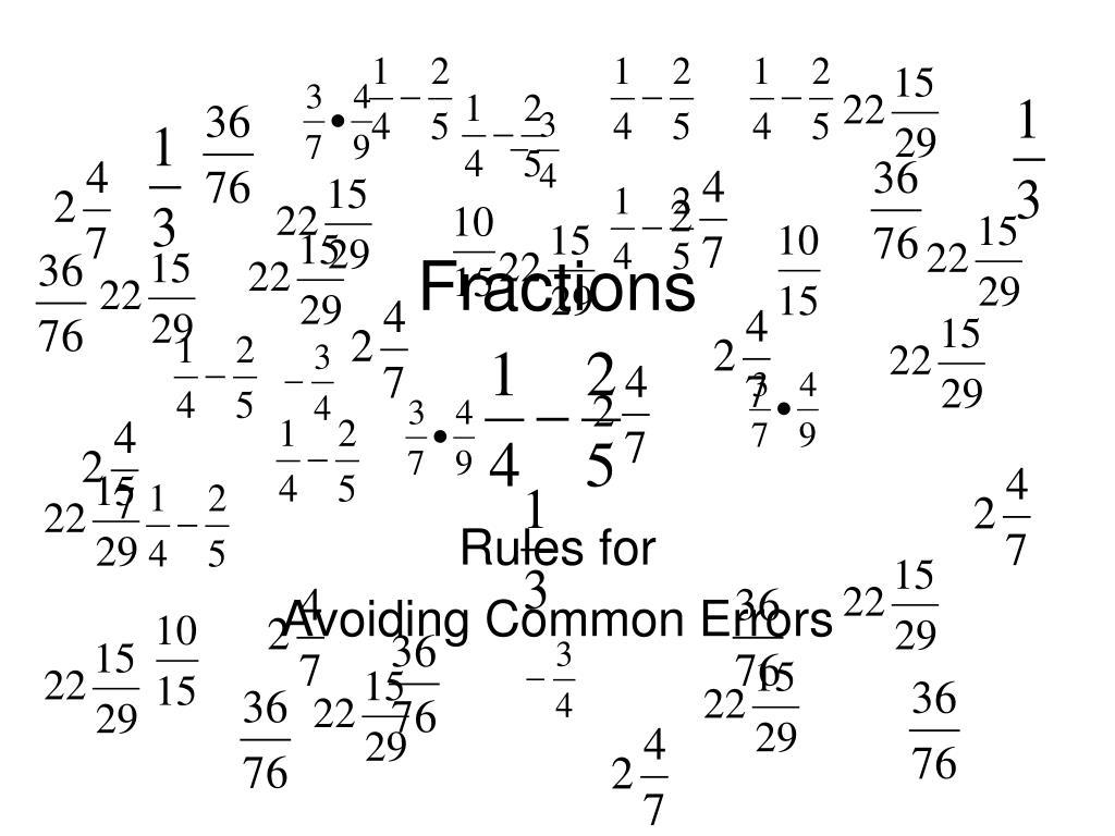 fractions l.