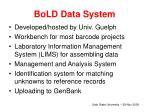bold data system