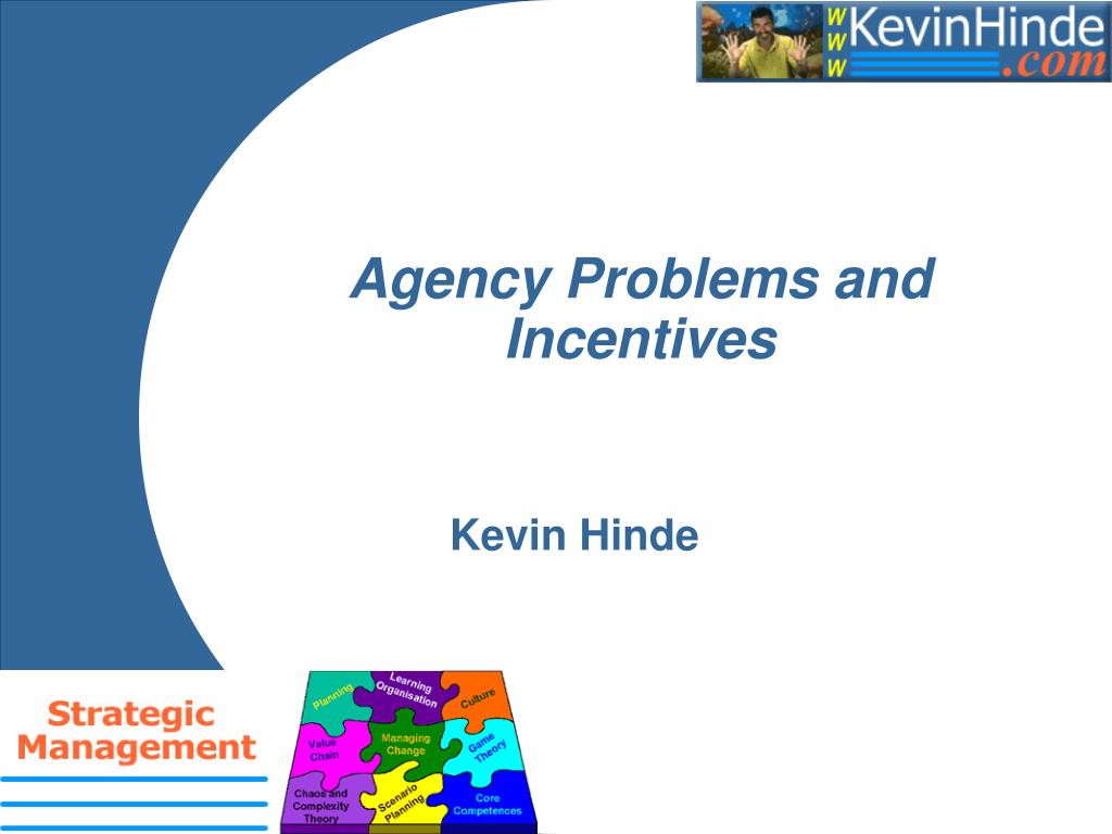 agency problems and incentives l.