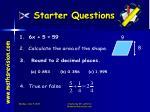 starter questions3