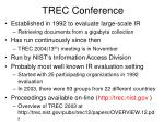 trec conference