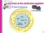 let s look at the draft plan together24