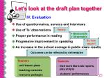 let s look at the draft plan together25