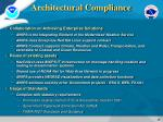 architectural compliance