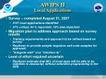 awips ii local applications