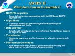 awips ii what does it mean to ensembles