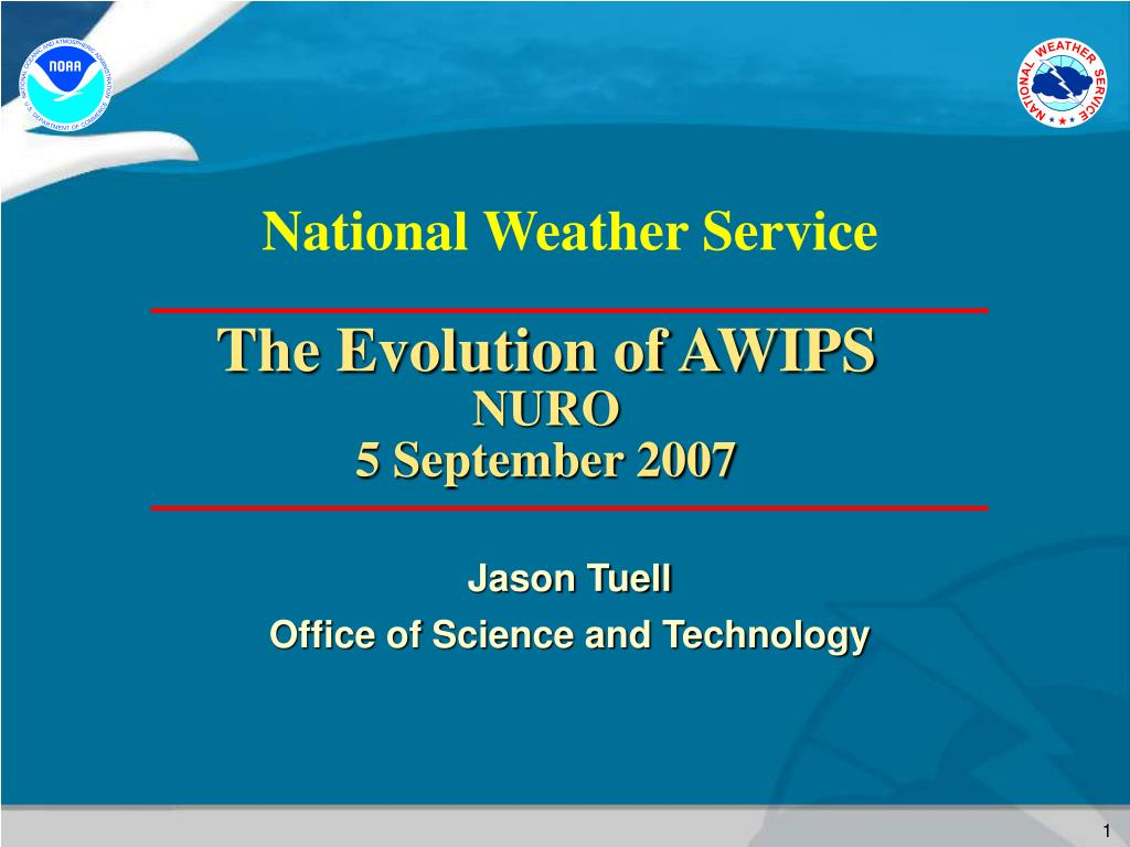 jason tuell office of science and technology l.