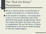 the rich get richer phenomenon