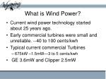 what is wind power6