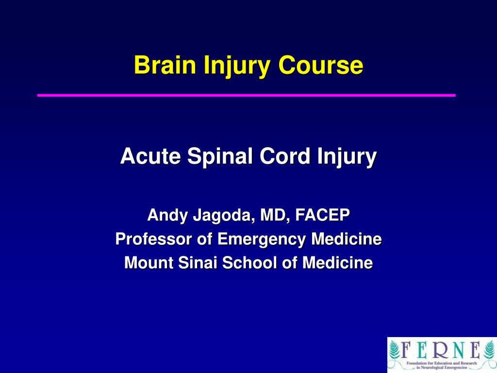 brain injury course l.