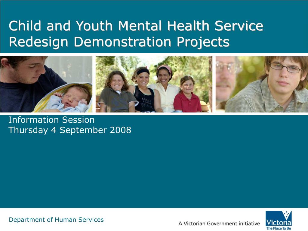 child and youth mental health service redesign demonstration projects l.