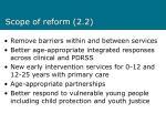scope of reform 2 2