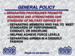 general policy