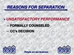 reasons for separation19