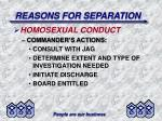 reasons for separation23