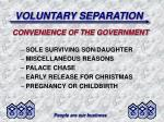 voluntary separation9