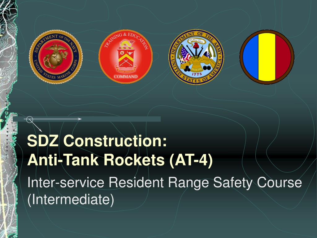 sdz construction anti tank rockets at 4 l.