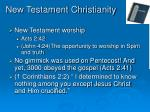 new testament christianity24