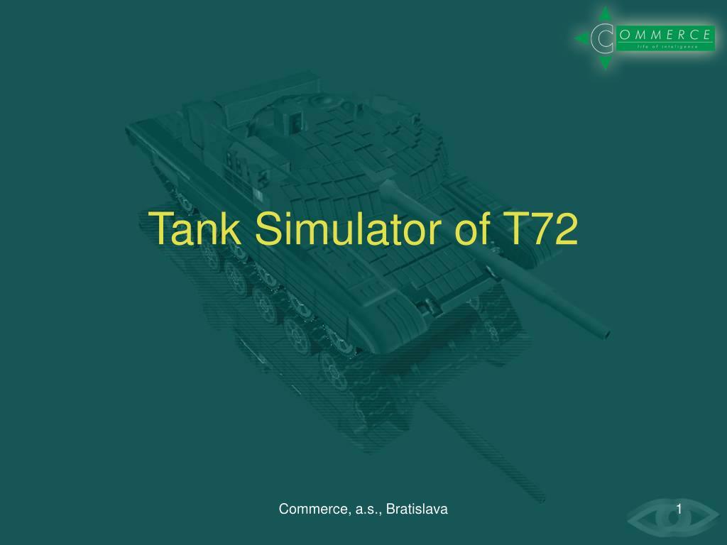 tank simul a tor of t72 l.