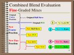 combined blend evaluation fine graded mixes