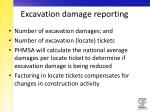 excavation damage reporting