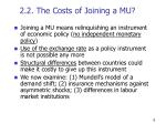 2 2 the costs of joining a mu