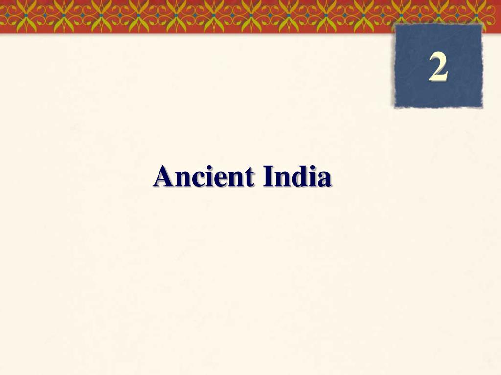 ancient india l.