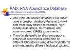 rad rna abundance database http www cbil upenn edu rad2