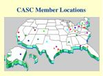 casc member locations
