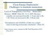 clean energy deployment challenges to maintain momentum21