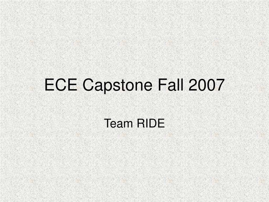 ece capstone fall 2007 l.