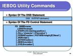 iebdg utility commands