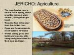 jericho agriculture