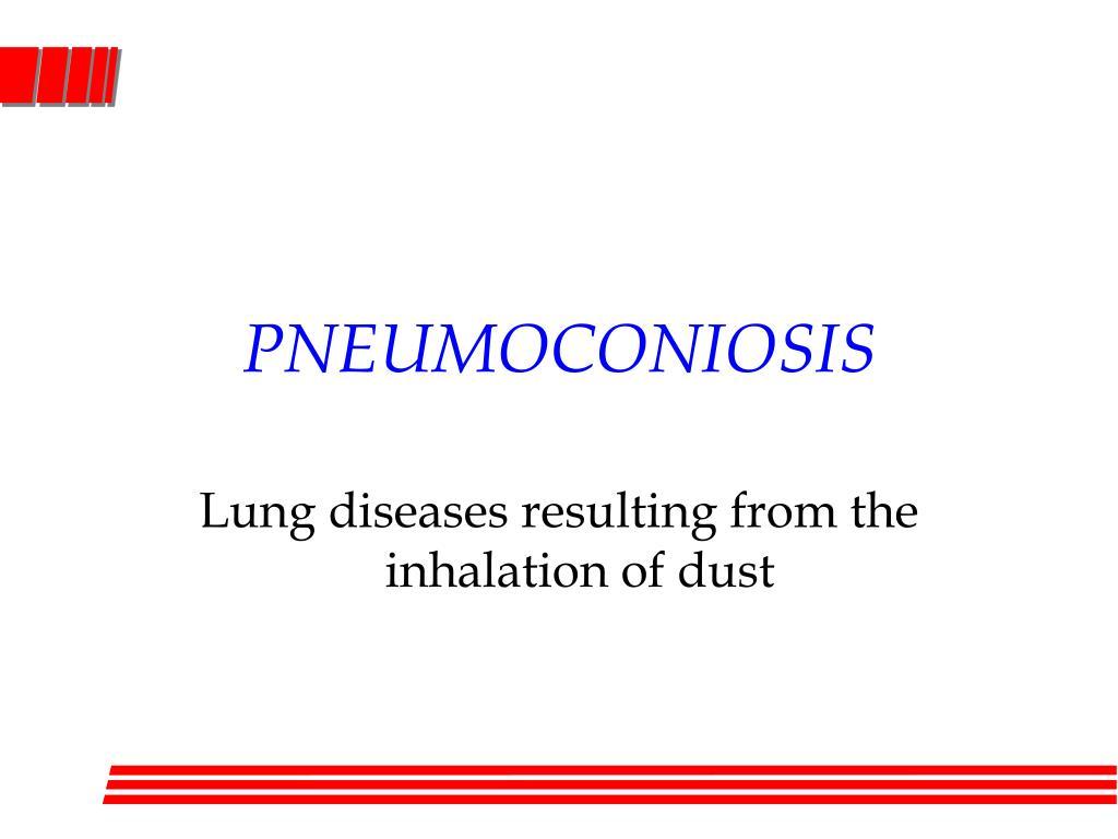 pneumoconiosis l.