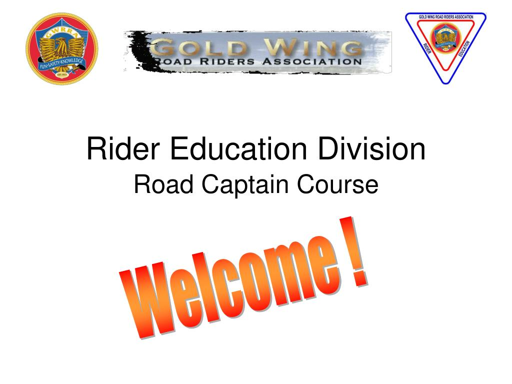 rider education division road captain course l.
