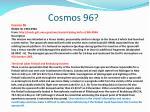 cosmos 96