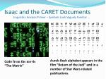 isaac and the caret documents20