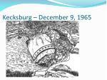 kecksburg december 9 196526